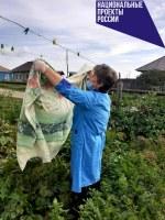 Социальные работники Уйского района оказывают санитарно-гигиенические услуги гражданам, состоящим на учете в отделении социального обслуживания на дому