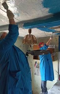 Социальные работники Уйского района помогают гражданам пожилого возраста и инвалидам готовиться к встрече православных праздников