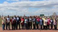 В Уйском муниципальном районе прошло соревнование по скандинавской ходьбе